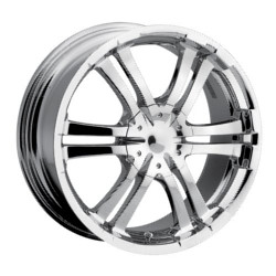 Ion STYLE-114 Chrome Wheel