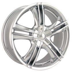 Ion STYLE-161 Chrome 17X7 5-100 Wheel