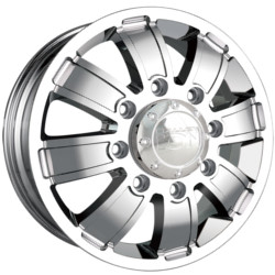 Ion STYLE-166 Chrome Wheel