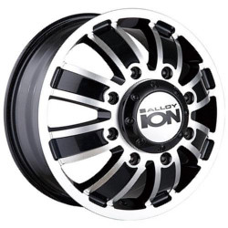 Ion STYLE-166 Matte Black/Machined Wheel