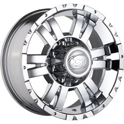 Ion STYLE-182 Chrome 15X8 6-139.7 Wheel