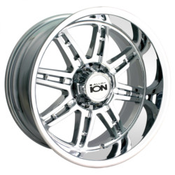 Ion STYLE-183 Chrome 17X8 8-180 Wheel
