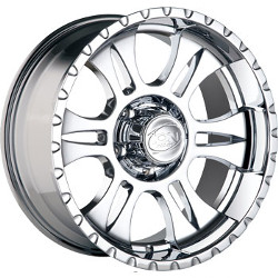 Ion STYLE-195 Chrome 18X9 5-127 Wheel