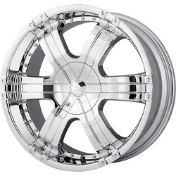 Ion STYLE-199 Chrome 17X8 5-139.7 Wheel