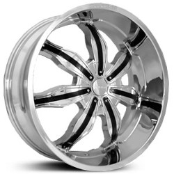 Ion STYLE-615 Chrome Wheel