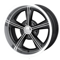 Ion STYLE-625 Black/Machined 20X9 5-120.7 Wheel