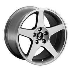 Detroit STYLE-815 Grey W/ Machined Face 17X9 5-114.3 Wheel