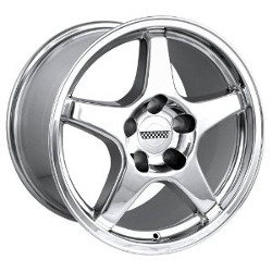 Detroit STYLE-841 Chrome 17X11 5-120.7 Wheel