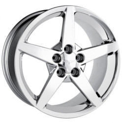 Detroit STYLE-865 Chrome 17X10 5-120.7 Wheel