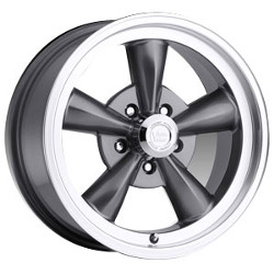 Vision STYLE141-LEGEND 5 RWD Gunmetalmachinedlip 15X8 5-127 Wheel
