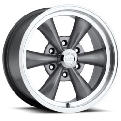 Vision STYLE141-LEGEND 6 RWD Gunmetalmachinedlip 17X8 6-139.7 Wheel