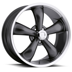 Vision STYLE142-LEGEND 5 RWD Gunmetalmachinedlip 20X9 5-120.7 Wheel