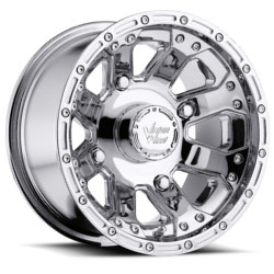 Vision STYLE159-OUTBACK FOR ATV Chrome 12X8 4-155 Wheel