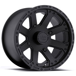 Vision STYLE159-OUTBACK FOR ATV Matteblack 12X7 4-155 Wheel