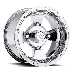 Vision STYLE161-BRUISER FOR ATV Chrome 14X8 4-110 Wheel