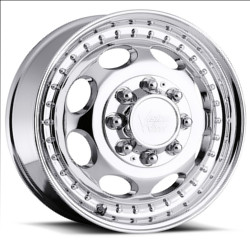 Vision STYLE181-HAULER FOR DUALLY FRONT Chrome Wheel