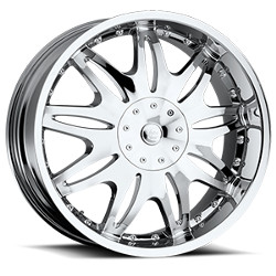 Vision STYLE331-AMBROSIA FWD Chrome Wheel