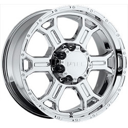 V-Tec STYLE 372-RAPTOR RWD Chrome 17X8 5-139.7 Wheel