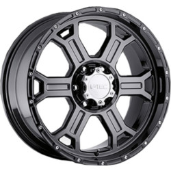 V-Tec STYLE 372-RAPTOR RWD Phantom Black 18X10 5-150 Wheel