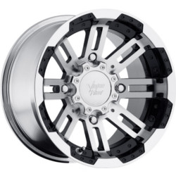 Vision STYLE375-WARRIOR FOR ATV Glossblackmachinedface 14X8 4-155 Wheel