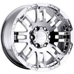 Vision STYLE375-WARRIOR RWD Chrome 20X9 5-127 Wheel