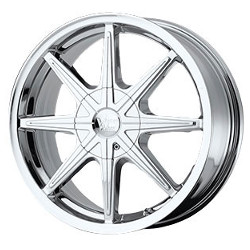 Vision STYLE378-KRYPTONITE FWD Chrome 17X7 4-114.3 Wheel