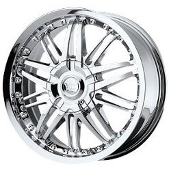 Vision STYLE381-AVENGER FWD Chrome 17X7 4-100 Wheel