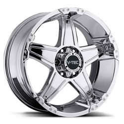V-Tec STYLE 395-WIZARD RWD Chrome 22X10 5-114.3 Wheel