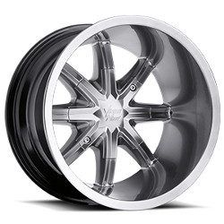 Vision STYLE438-SAHARA FOR ATV Hyperblack 14X7 4-155 Wheel