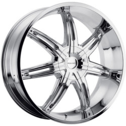 KMC SURGE Chrome 24X10 5-112 Wheel