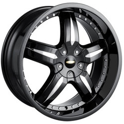 Baccarat SYNC Black 18X8 5-112 Wheel