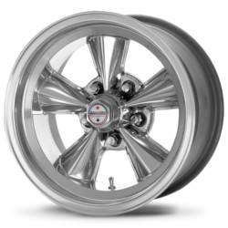 American Racing Hot Rod T71R Polished 17X7 5-120.7 Wheel