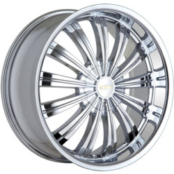 Baccarat TABOO Chrome 20X9 5-120 Wheel