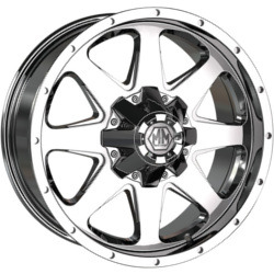 Mayhem TANK Chrome 20X9 5-139.7 Wheel