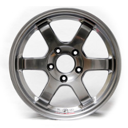 Volk Racing TE37 Formula Silver 19X9 5-120 Wheel