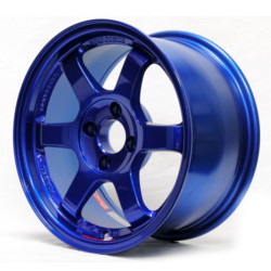 Volk Racing TE37 Magnesium Blue 15X7 4-100 Wheel