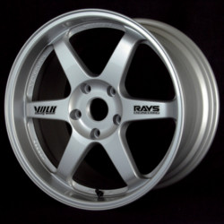 Volk Racing TE37 Mercury Silver 20X10 5-114.3 Wheel