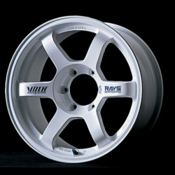 Volk Racing TE37 White Wheel