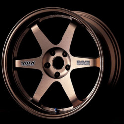 Volk Racing TE37 GRAVEL Bronze 14X7 4-114.3 Wheel