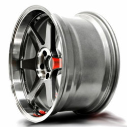 Volk Racing TE37SL Pressed Graphite 18X10 5-114.3 Wheel