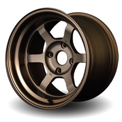 Volk Racing TE37V Bronze 15X8 4-100 Wheel