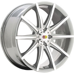 Momo TEN-S Silver 18X8 5-114.3 Wheel