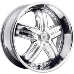 TIS TIS33 Chrome 24X10 5-115 Wheel