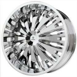 Verde TITANIO Chrome 22X10 6-132 Wheel