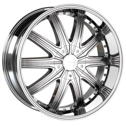 Veloche TORK Chrome 24X10 6-135 Wheel