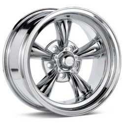 American Racing Hot Rod TORQ THRUST D Chrome 15X9 5-120.7 Wheel