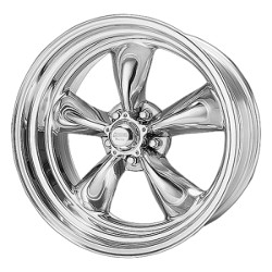 American Racing Hot Rod TORQ THRUST II 1 PC Polished 16X7 5-127 Wheel