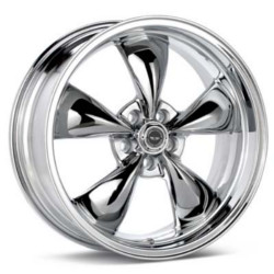Carroll Shelby TORQ THRUST M Chrome 17X9 5-120.7 Wheel