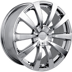 Touren TR3 Chrome 18X8 5-120 Wheel