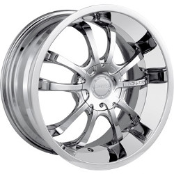 Touren TR5 Chrome 17X8 5-114.3 Wheel